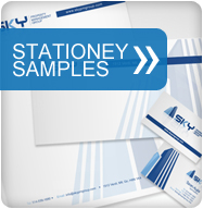 Stationery Design Sample